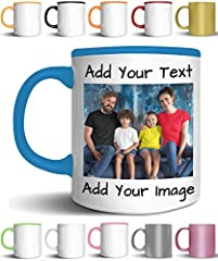 MAKE YOUR OWN   Design your mug by adding your text, name, letters or photo or both!   Choose your color and click Customize Now button for placing your text or picture on your mug You can pick to print only one side or DOUBLE SIDE   Your unique desi...
