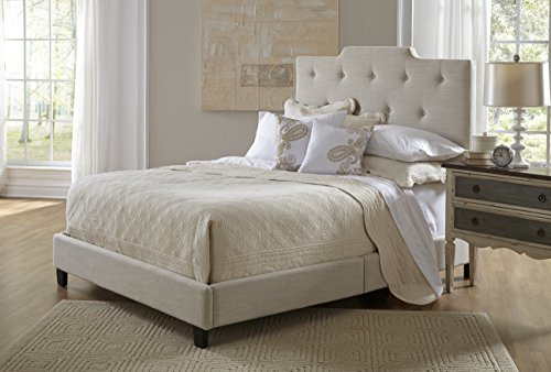 Pulaski Everett All-in-1 Fully Upholstery High Back Bed, Queen
