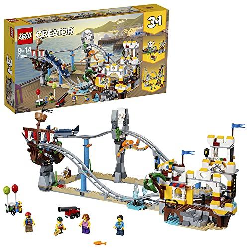 LEGO 31084 Creator Piracka Kolejka Górska, Wielokolorowa