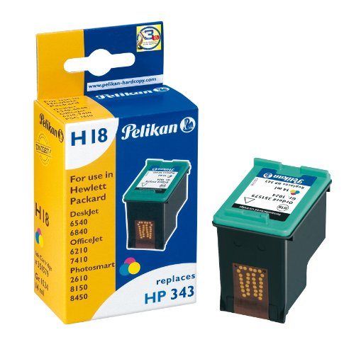 Pelikan 351579 - Cartucho de tinta HP DeskJet 6540-343 - COLOR