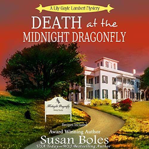 Death at the Midnight Dragonfly audiobook cover art