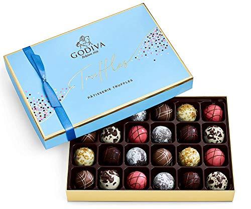 Godiva Chocolatier Patisserie Dessert Truffles Assorted Chocolate Gift Box, 24 pc.