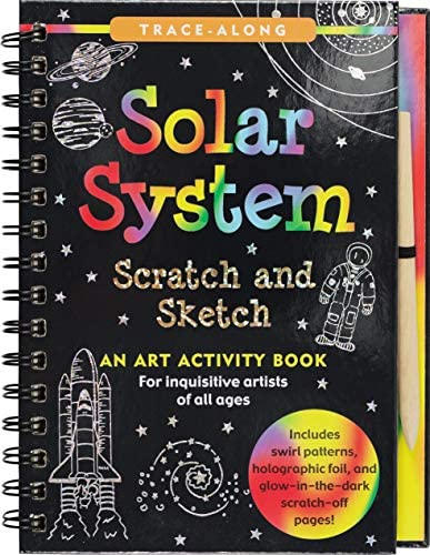 Scratch Sketch Solar System Trace Along product image