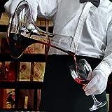 Weindekanter Dekanter Rotwein Weinkaraffe Wein Dekantierer & Korkverschluss Wein Dekanter Red Wine Decanter Handgemacht Weinkaraffen 1.8L Bleifreie Karaffe Rotwein Dekanter - 5