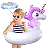 Best Floaties For Kids - Unicorn Pool Floats, Swim Tubes for Kids, Inflatable Review