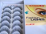 Model 21 False Eyelashes No. 18, 10 Pair