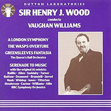Sir Henry J Wood Conducts Vaughan Williams