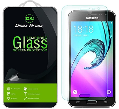 [2-Pack] Dmax Armor for Samsung Galaxy J36V Screen Protector, [Tempered Glass] 0.3mm 9H Hardness, Anti-Scratch, Anti-Fingerprint, Bubble Free, Ultra-Clear