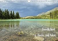 Unendlichkeit in Alaska und Yukon (Wandkalender 2022 DIN A4 quer): Alaska und Yukon gelten als Inbegriff von unberuehrter Natur, Einsamkeit und Abenteuer. (Monatskalender, 14 Seiten )