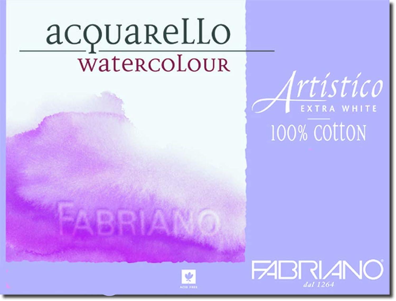 comprar ahora 5paquetes de 10Fabriano Artistico Extra blancoo hoja 22 x30 x30 x30  300gsm (140lb) Cold Press  suministramos lo mejor