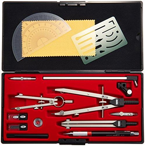 Uchida KD type drawing instrument QB 13 product set N 1-730-7413 (japan import)