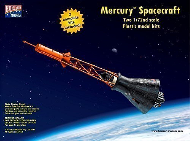 Horizon Models 1 72nd scale Mercury TM Spacecraft Plastic Model Kit by Horizon Models