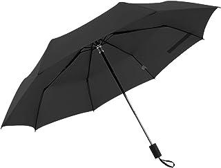 小さくて新鮮な3つ折り傘日焼け止めアンチUVシンプル ZHANGAIZHEN (色 : ブラック)