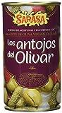 Sarasa Los Antojos del Olivar - Aceituna Verde con Hueso - Paquete de 12 x 350 gr - Total: 4200 gr