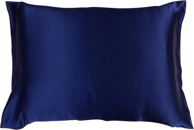 Moonlit Skincare High-Grade 100% Mulberry Silk Pillowcase 19 Momme Weight Standard Size Silk Pillowcase  Cloud 9 Pillowcase   19  x 27