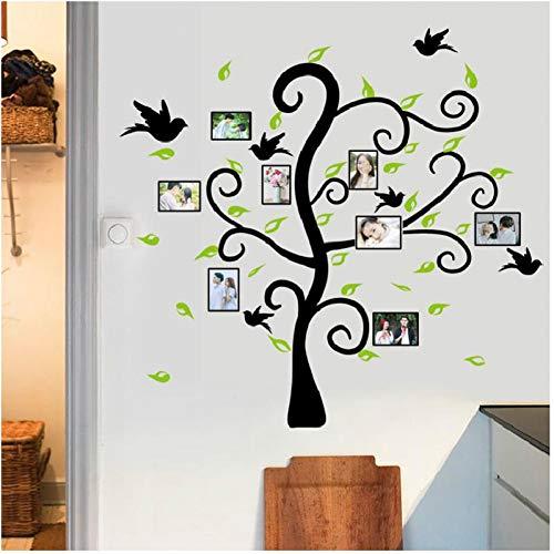 ZYBKOG Wandaufkleber Pflanze Foto Wandaufkleber PVC Baum Aufkleber Dekorative Poster Für Schlafzimmer Sofa Fenster Hintergrund Kunst Fens