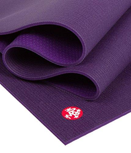 Manduka Yogamatte Black Mat PRO 6mm, extra lang 216 cm (Black Magic)