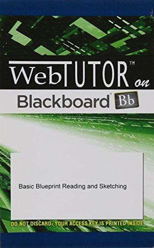 WebTutor™ Advantage on Blackboard (1 Year) Printed Access Card for Olivo/Olivo's Basic Blueprint Reading and Sketching,