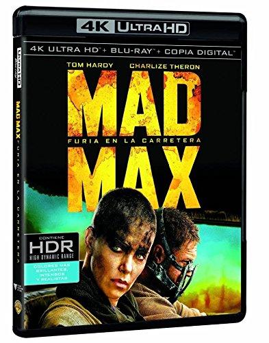 Mad Max. Furia En La Carretera 4k Uhd Blu-ray