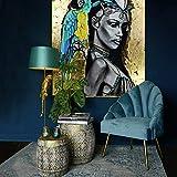 Casa Padrino Tammy - Lámpara de mesa (121 cm, 1 L, polirresina),...