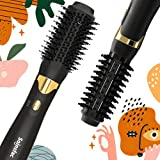 Hair Dryer Brush, Soinsfac Hair Dryer & Volumizer With Negative Ion For Straightening, Curling, Fast Drying, Blowout Hair Dryer Brush Blow Dryer Brush In One, Upgrade Size Hot Air Brush For Girl Women