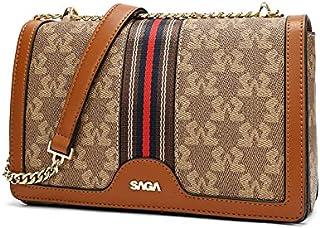 حقيبة نسائية بسلسلة عليا من SAGA