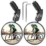 ZITFRI Fahrradspiegel 1 Paar - Rückspiegel für Lenker 2 Stück verstellbar 360 Grad...