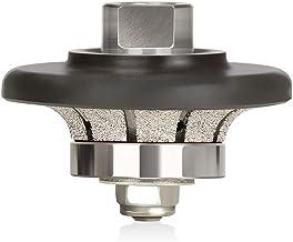 "ZFE B-Shape 3/8"" (10mm) Demi Bullnose Half Bullnose Roundover Diamond Hand Profiler.."