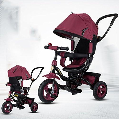 Babywagen Kinder Dreirad, Fahrrad Baby Fahrrad Baby Trolley 1-3-5 Jahre Alten Fahrrad Fahrrad
