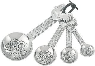 4 piece Ganz Rooster Measuring Spoon Set