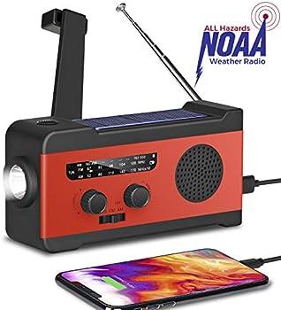 Fansrock Emergency Solar Hand Crank Radio