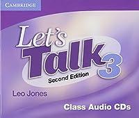 Let's Talk Level 3 Class Audio CDs (3)