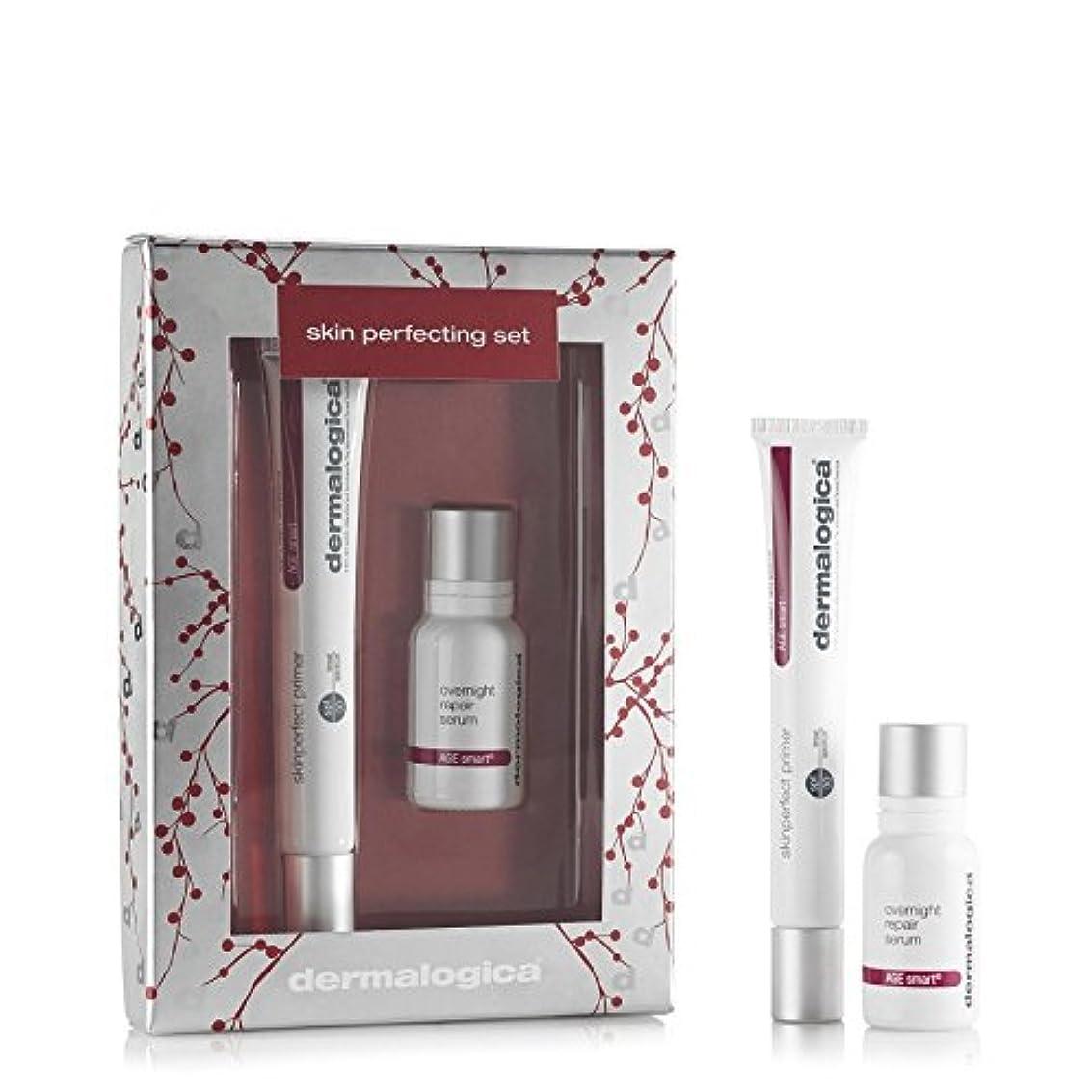 ラケット達成可能公爵夫人ギフトセットを完成ダーマロジカスキン x4 - Dermalogica Skin Perfecting Gift Set (Pack of 4) [並行輸入品]