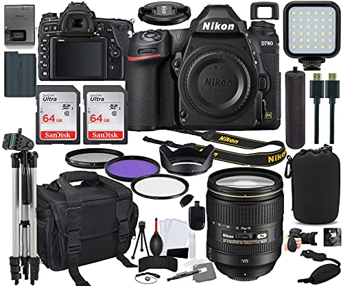 Nikon D780 DSLR Camera with 24-120m…