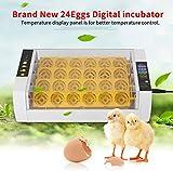 Ejoyous Brutmaschine Vollautomatisch Hühner Eier Brutgerät