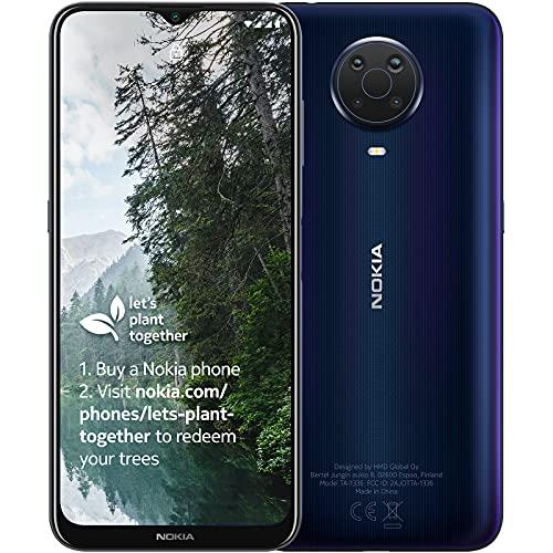 Nokia G20 6.5 Inch Android UK SIM Free Smartphone with 4 GB RAM and 64 GB Storage (Dual SIM) - Blue