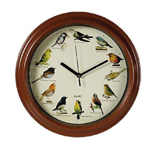 Wandklok met vogelmelodie – klank en originele decoratie