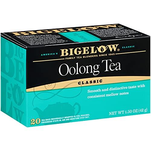 Bigelow Oolong Tea Bags 20-Count Box (Pack of 6), Caffeinated Oolong Tea, 120 Tea Bags Total