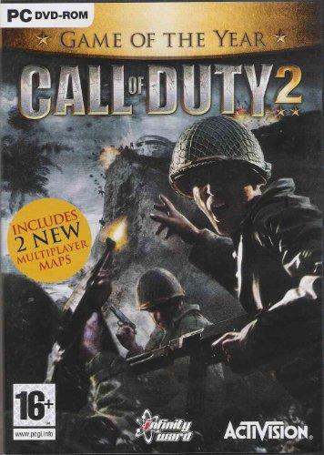 Activision Call of Duty 2 - Juego (PC, FPS (Disparos en primera persona), T (Teen), 4600 MB, 256 MB, Intel Pentium IV/ AMD Athlon XP 1700+)