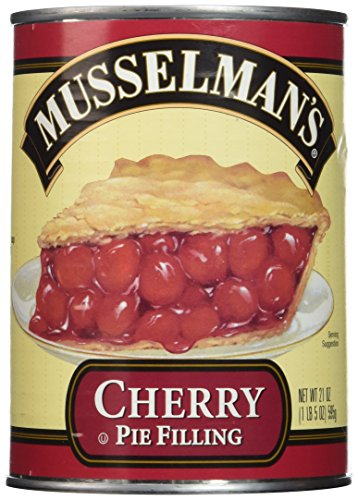 Musselman's Cherry Pie Filling,net wt 21 OZ(Pack of 2)