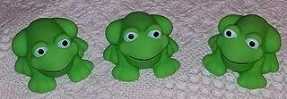 Greenbrier International Frog Bath Toys - Set of 3