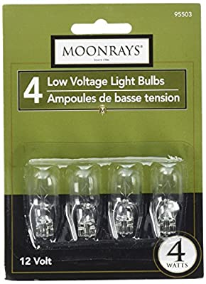 Moonrays Wedge Base Light Bulbs