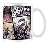 X-Men Comic Strip Batalla Taza de cermica