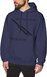 DeclanI Queens of The Stone Age Songs for The Deaf Men's Hoodies Hooded Sweatshirt Navy