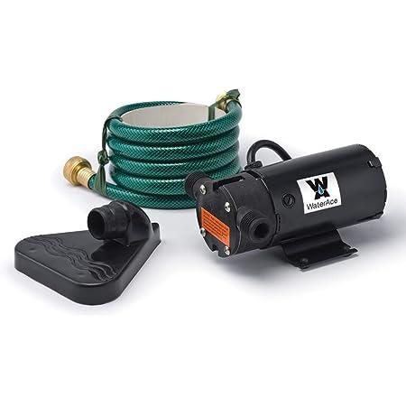 WaterAce WA61UP Transfer Pump, Black