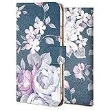 iPhone XR ケース 手帳型 アイフォン XR カバー スマホケース おしゃれ かわいい 耐衝撃 花柄 人気 純正 全機種対応 バラ ローズ 3 フラワー 6665790