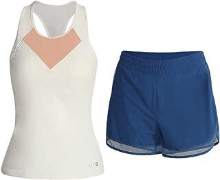 Yoga Wear Neckline Contrast Design Sport Suits Women's Sweatsuits Yoga Jogging Tracksuits