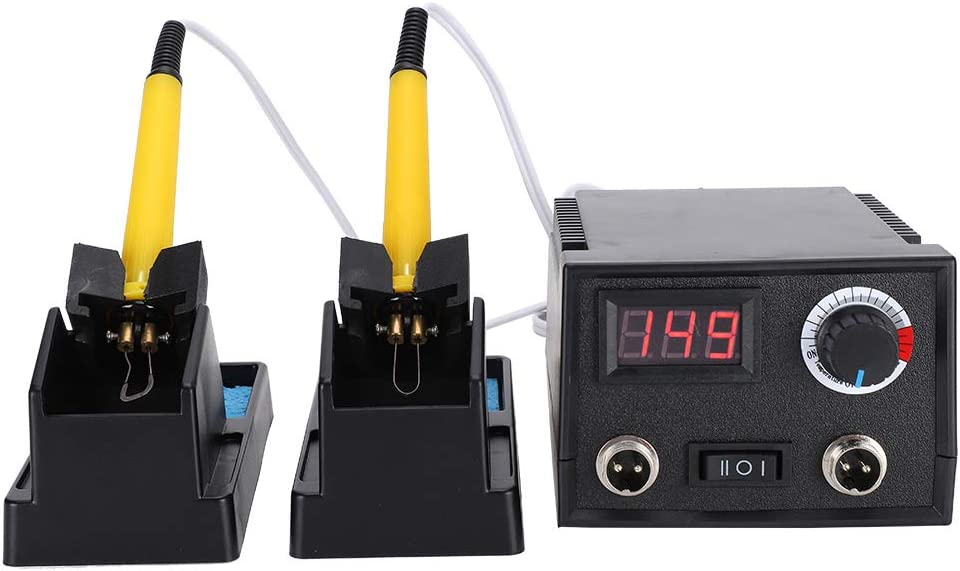 Pen Holder Professional Wood Burning Kit UK Plug Adjustable Pyrography Machine with 30x Pyrography Wire Tips Cleaning Sponge