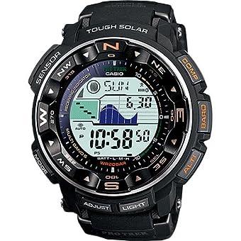 [カシオ] 腕時計 プロトレック 電波ソーラー PRW-2500-1JF ブラック