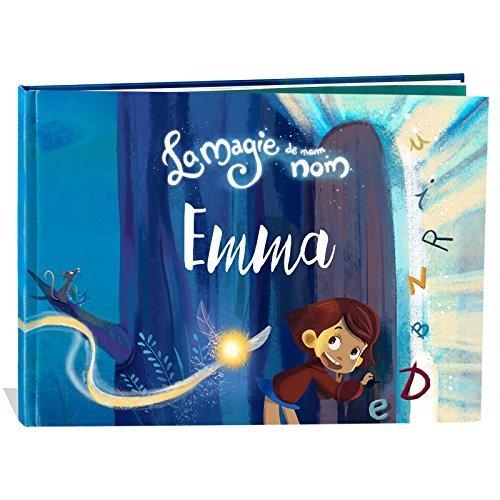 Livre enfant personnalisé: La magie de mon nom de My Magic Story – cadeau naissance, baptême, scolarisation, anniversaire idée cadeau fille et garçon, apprenti lecteur et enfants de 0 à 8 ans